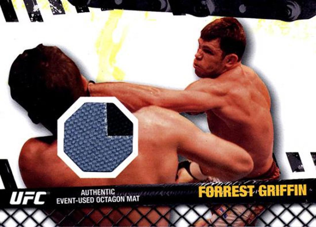 UFC 2010 Championship Fight Mat Relic Forrest Griffin FM-FG