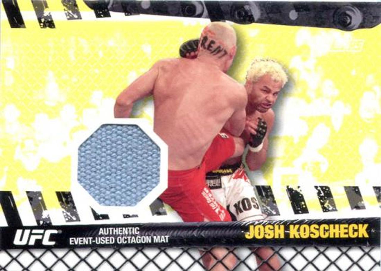 UFC 2010 Championship Fight Mat Relic Josh Koscheck FM-JK