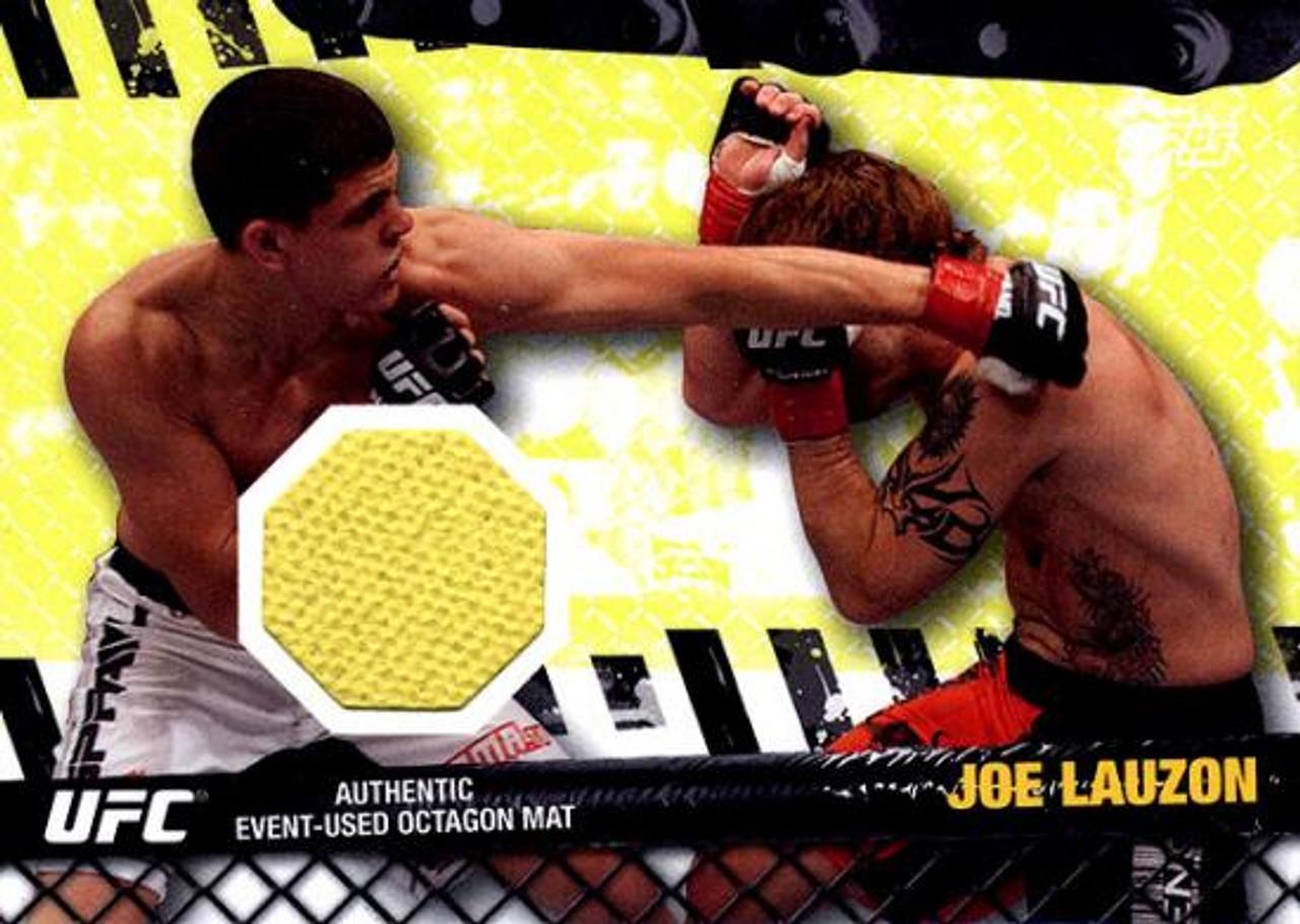 UFC 2010 Championship Fight Mat Relic Joe Lauzon FM-JL [Yellow]