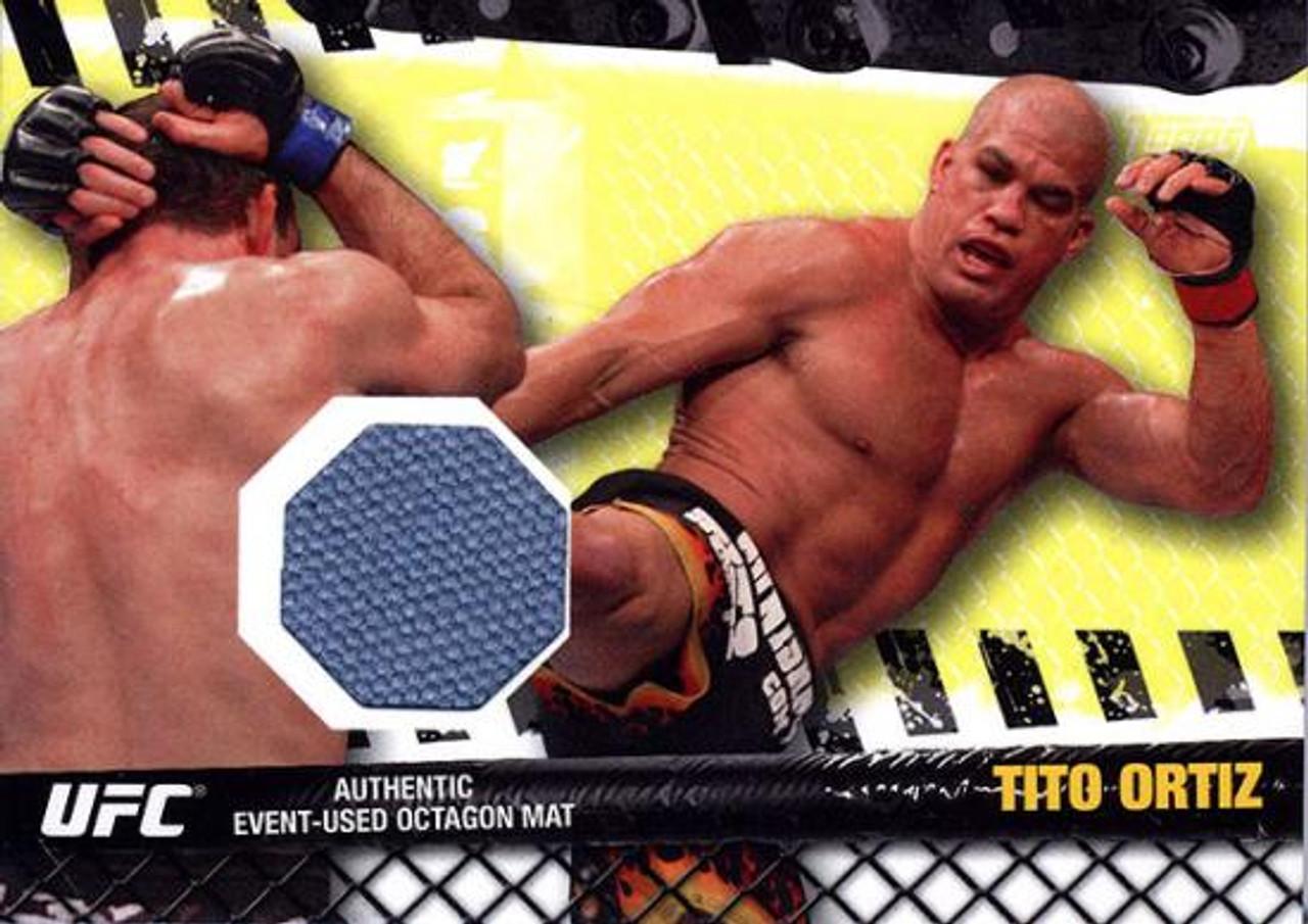 UFC 2010 Championship Fight Mat Relic Tito Ortiz FM-TO