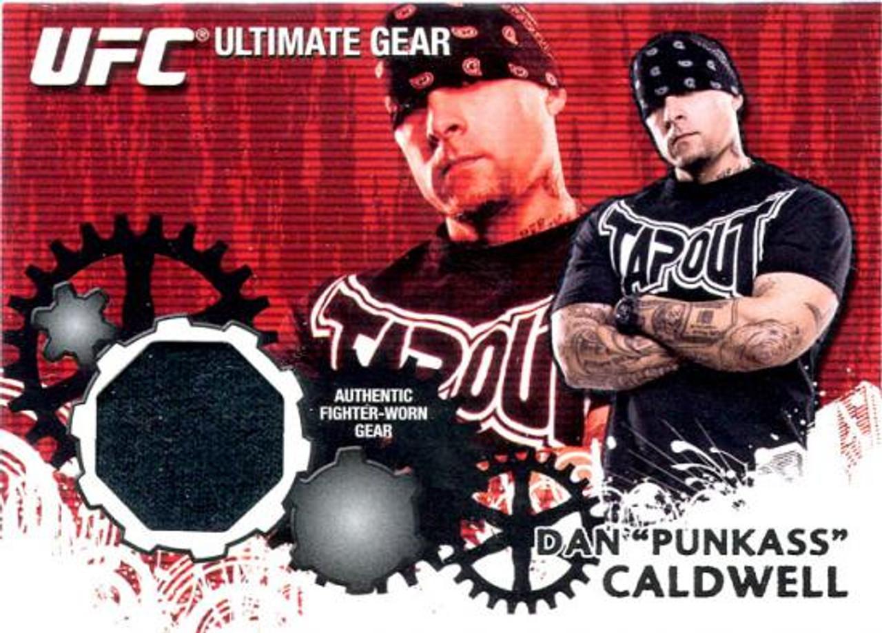 UFC 2010 Championship Ultimate Gear Relic Dan Caldwell UG-DC