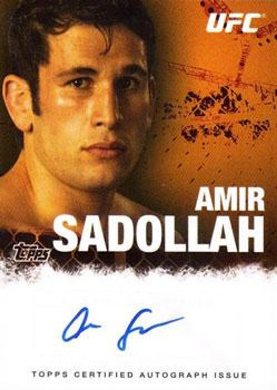 UFC 2010 Championship Autograph Fighters & Personalities Amir Sadollah FA-ASA