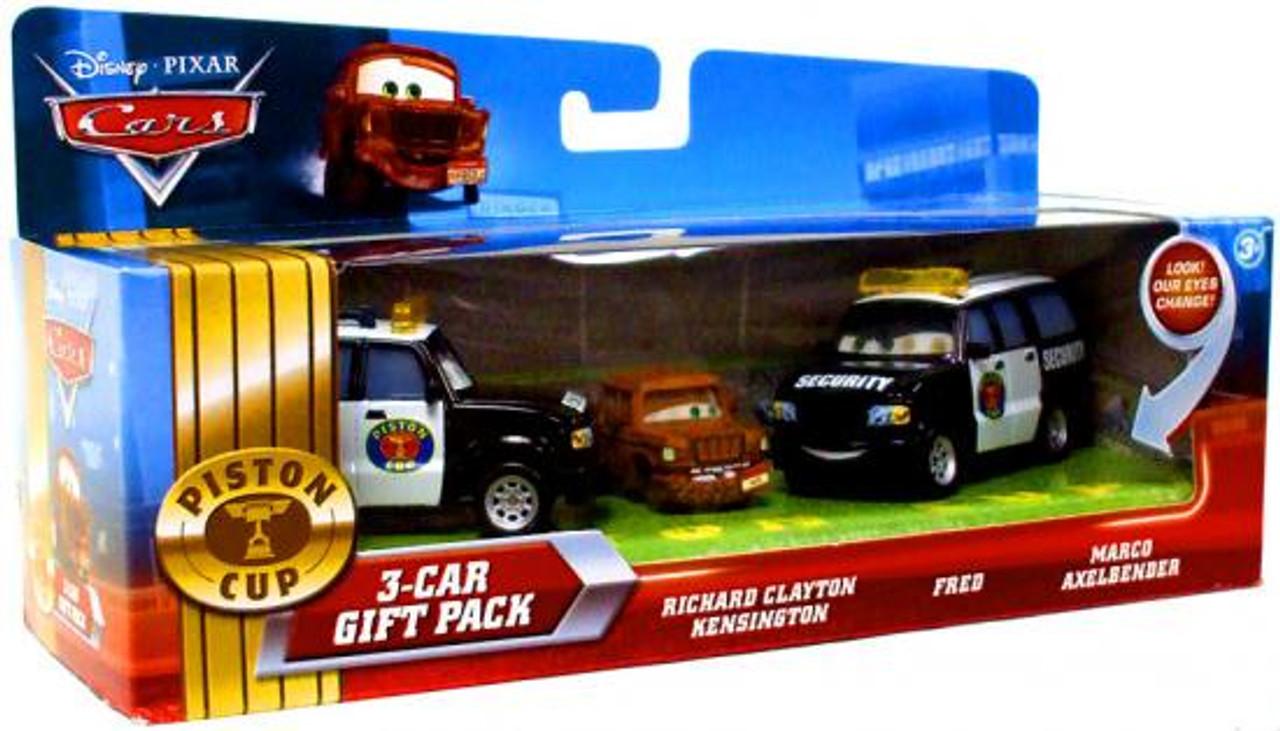 Disney Cars Multi-Packs Piston Cup 3-Car Gift Pack Diecast Car Set [Security]