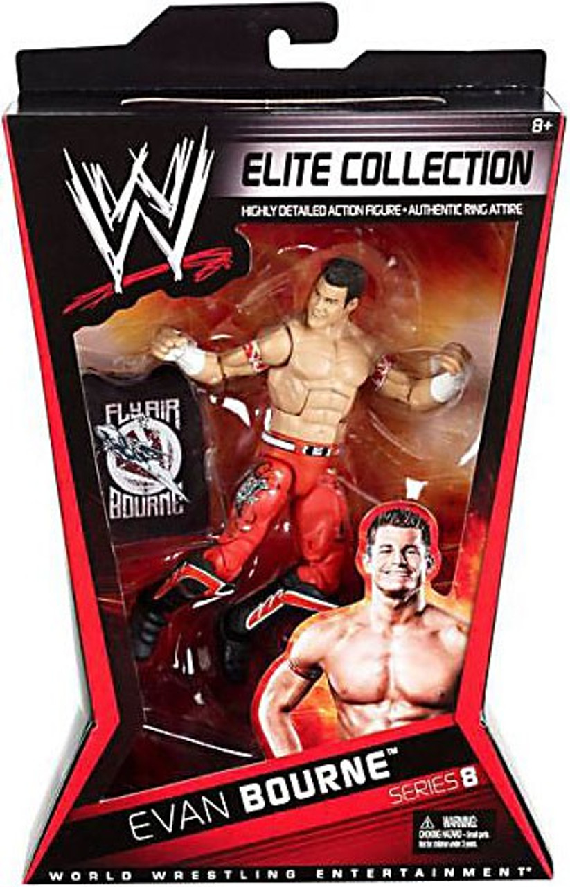 WWE Wrestling Elite Series 8 Evan Bourne Action Figure
