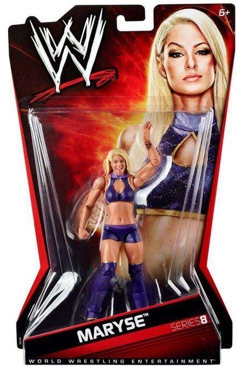 WWE Wrestling Series 8 Maryse Action Figure