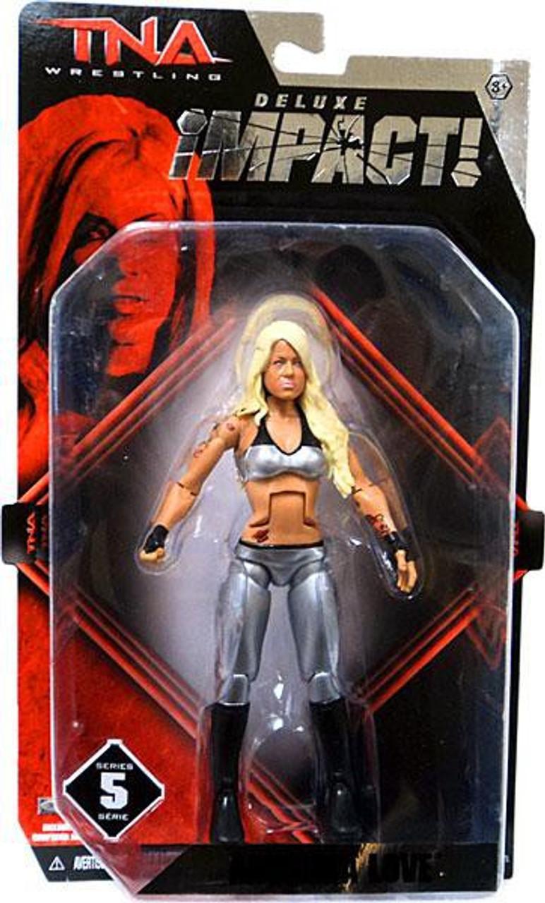 TNA Wrestling Deluxe Impact Series 5 Angelina Love Action Figure