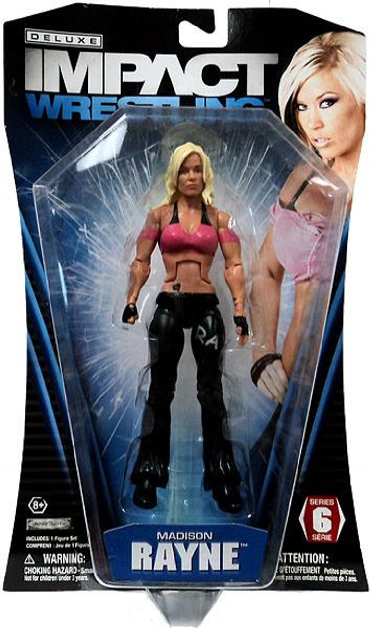 TNA Wrestling Deluxe Impact Series 6 Madison Rayne Action Figure