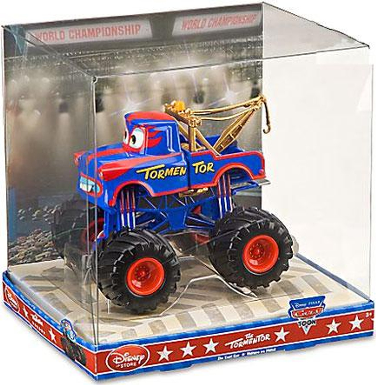 Disney Cars Cars Toon 1:43 Monster Trucks The Tormentor Exclusive Diecast Car