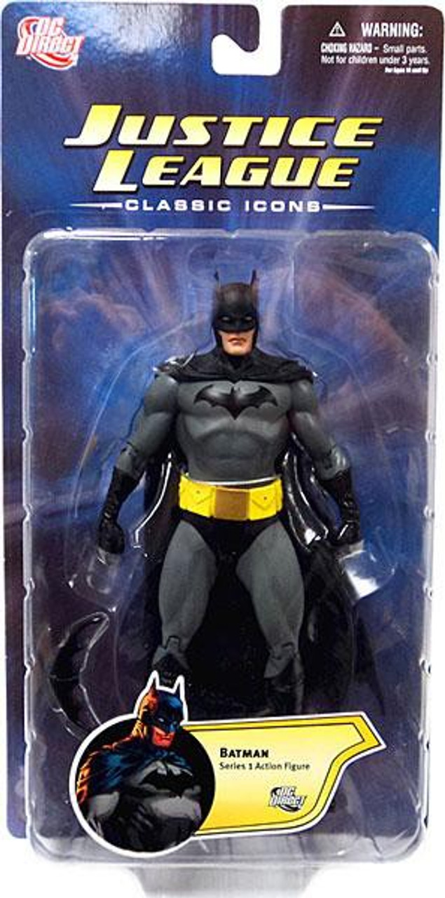 Justice League Classic Icons Series 1 Batman Action Figure