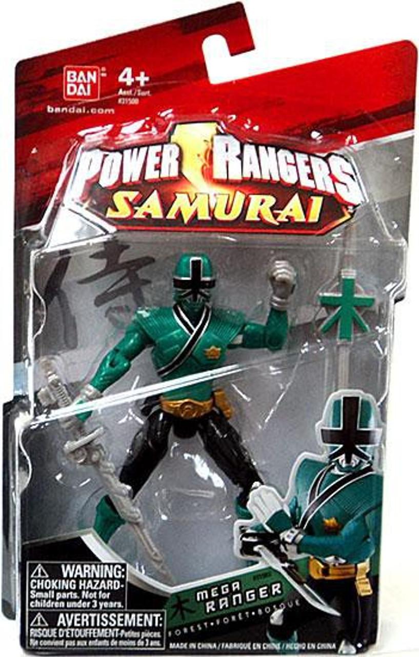 Power Rangers Samurai Mega Ranger Forest Action Figure