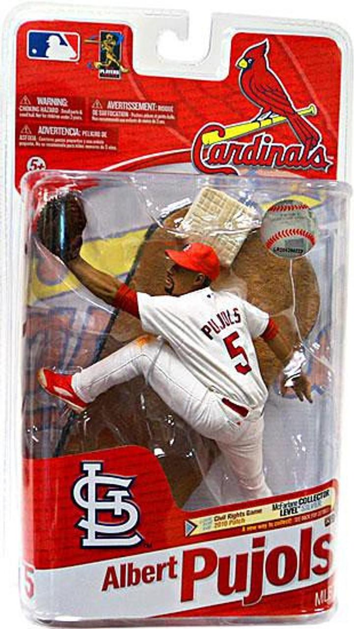 McFarlane Toys MLB St. Louis Cardinals Sports Picks Series 27 Albert Pujols Action Figure [White Jersey]