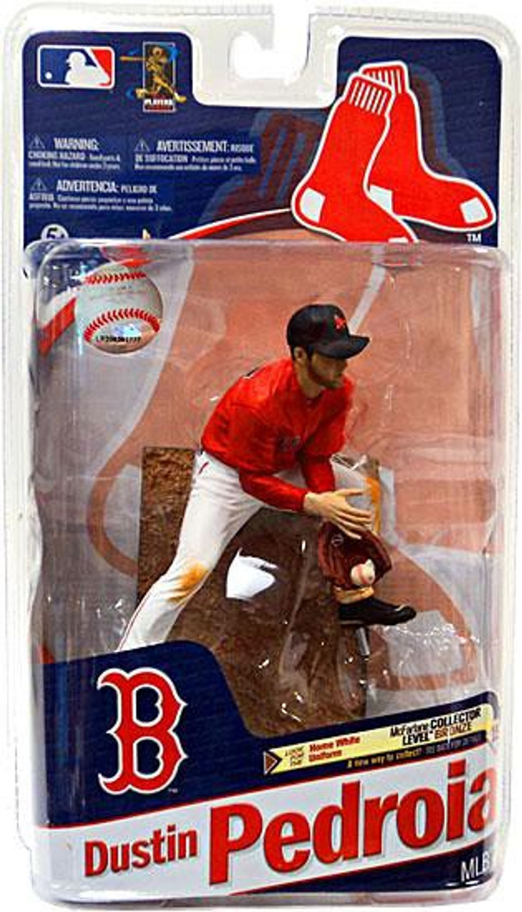 McFarlane Toys MLB Boston Red Sox Sports Picks Series 27 Dustin Pedroia Action Figure [Red Jersey]