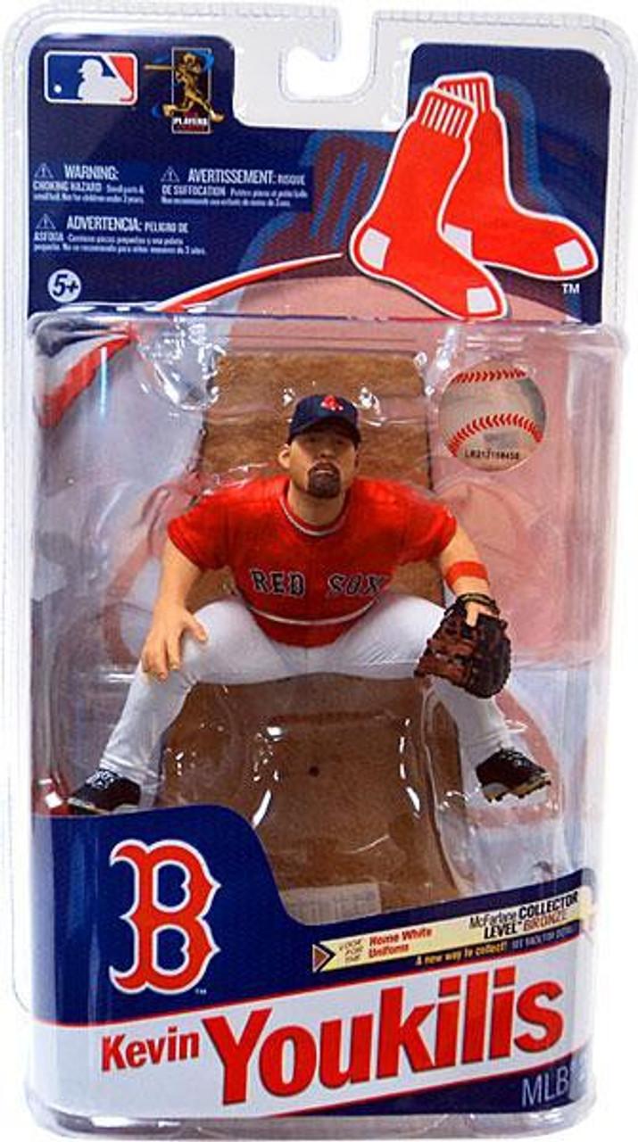 McFarlane Toys MLB Boston Red Sox Sports Picks Series 28 Kevin Youkilis Action Figure [Red Jersey]
