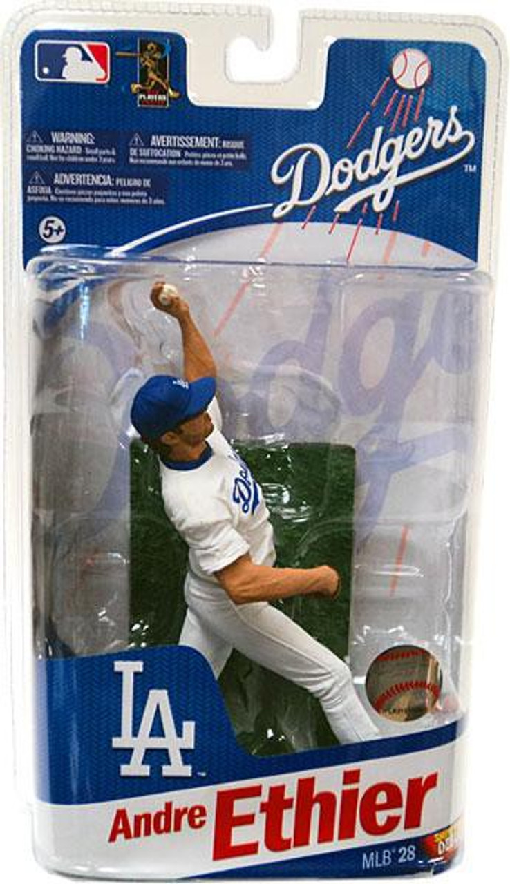 McFarlane Toys MLB Los Angeles Dodgers Sports Picks Series 28 Andre Ethier Action Figure