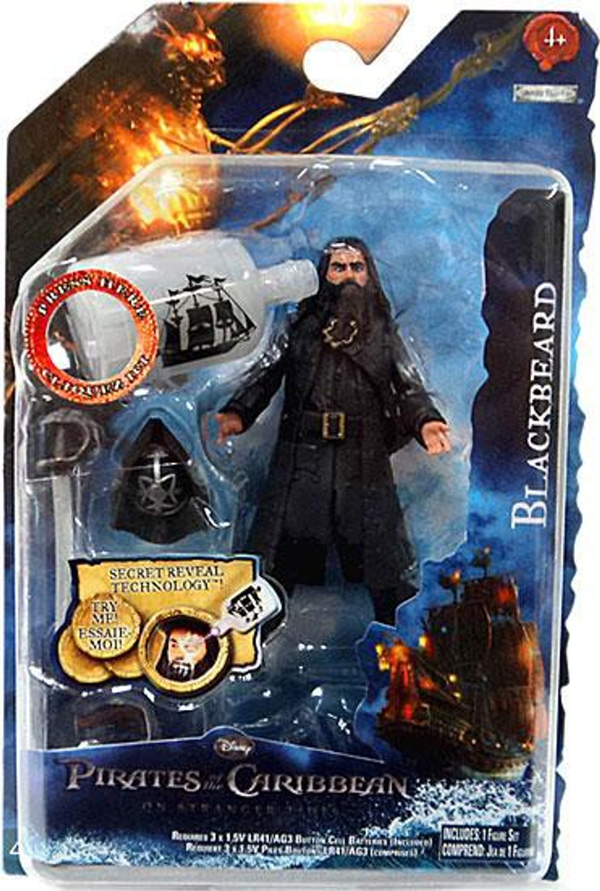 Pirates of the Caribbean On Stranger Tides Series 1 Blackbeard Action Figure [Version 1]