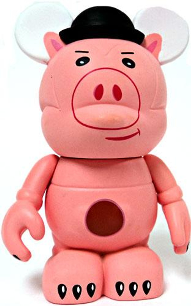Disney Toy Story Vinylmation Hamm 3-Inch Vinyl Figure [With Hat Variant Loose]