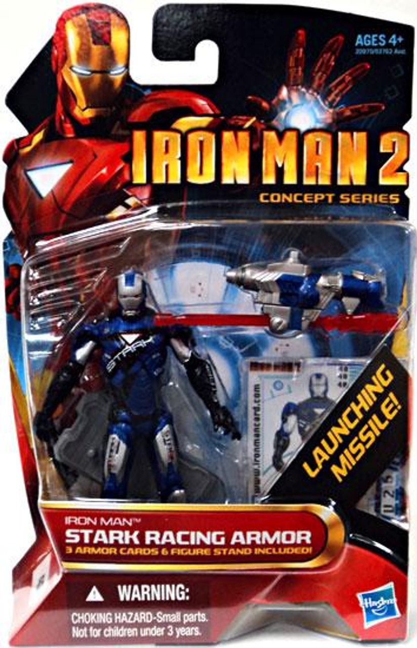 Iron Man 2 Concept Series Stark Racing Armor Iron Man Action Figure #40