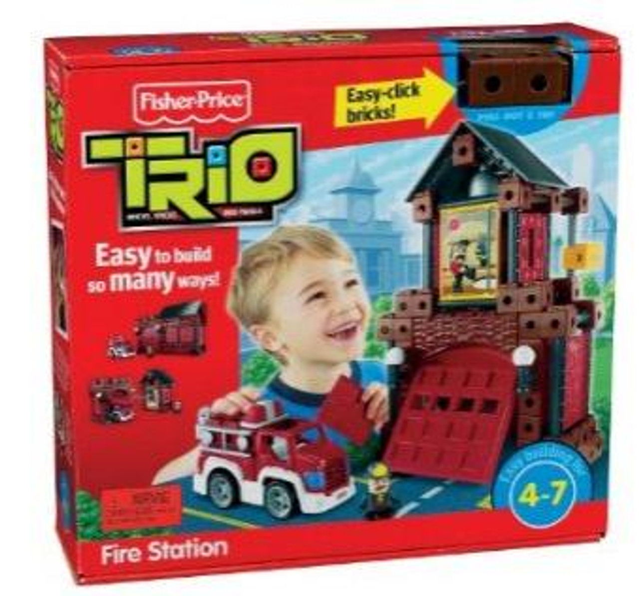 Fisher Price TRIO Fire Station Playset
