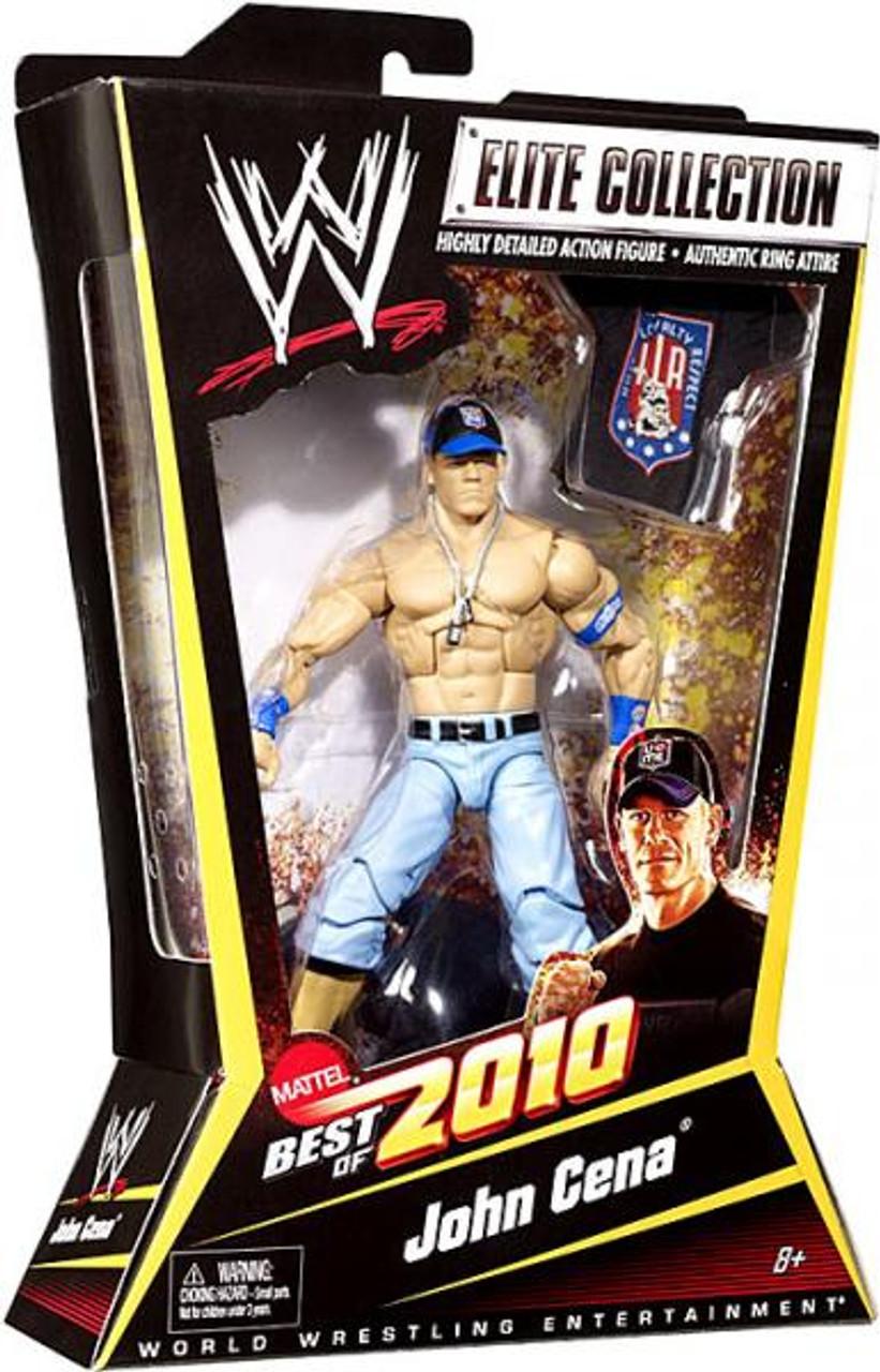 WWE Wrestling Elite Best of 2010 John Cena Action Figure