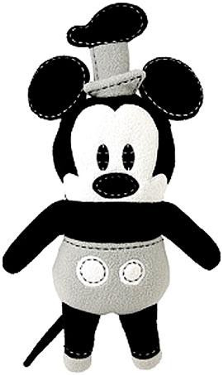 Disney Mickey Mouse Pook-a-Looz Steamboat Willie Plush Doll