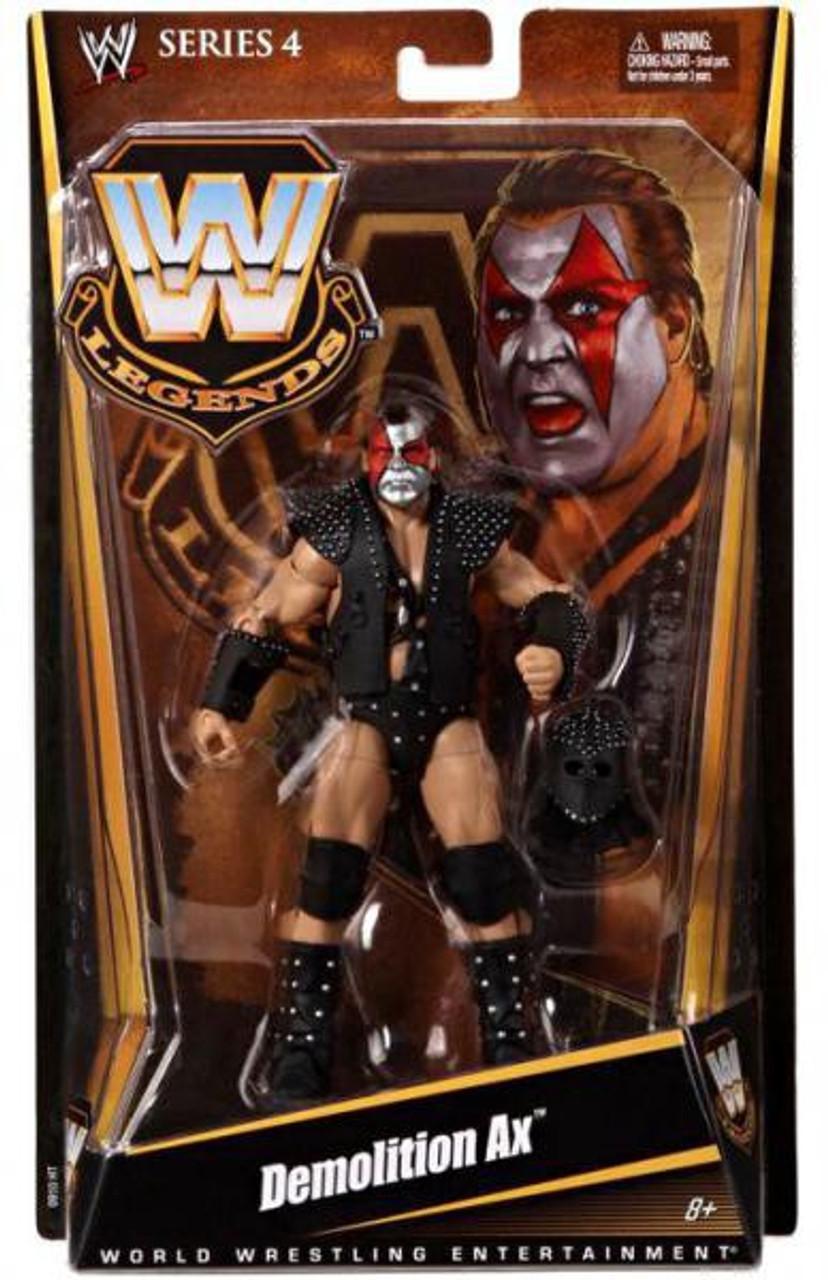 WWE Wrestling Legends Series 4 Demolition Ax Action Figure