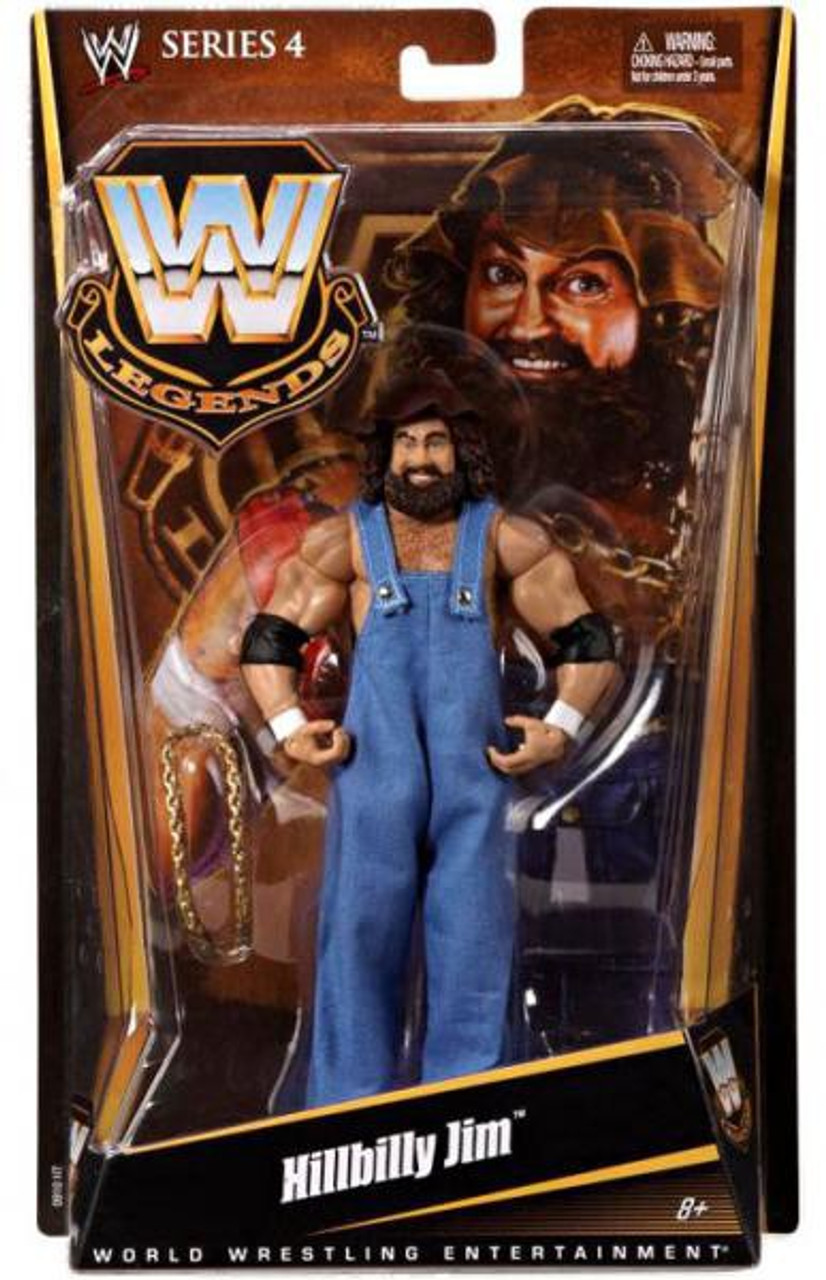 WWE Wrestling Legends Series 4 Hillbilly Jim Action Figure