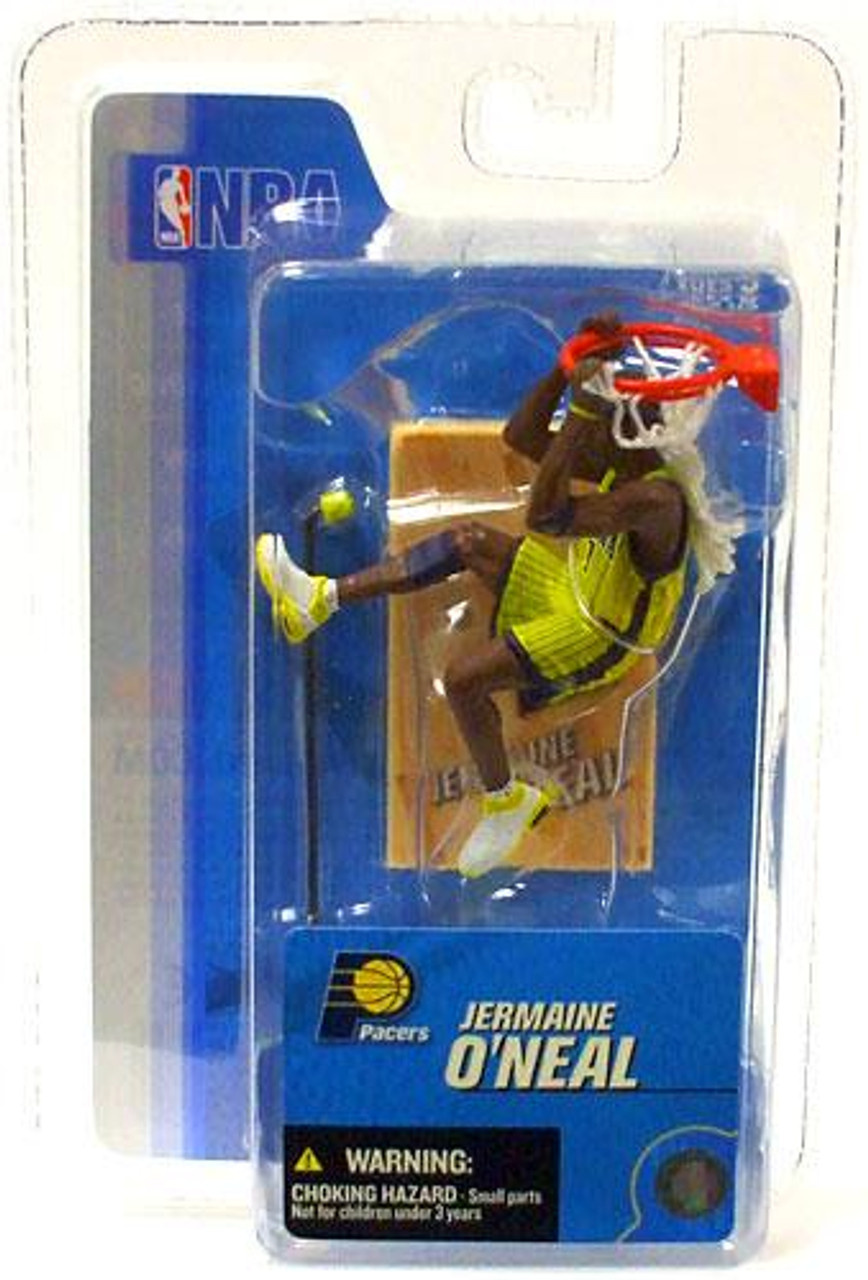 McFarlane Toys NBA Indiana Pacers Sports Picks 3 Inch Mini Series 3 Jermaine O' Neal Mini Figure