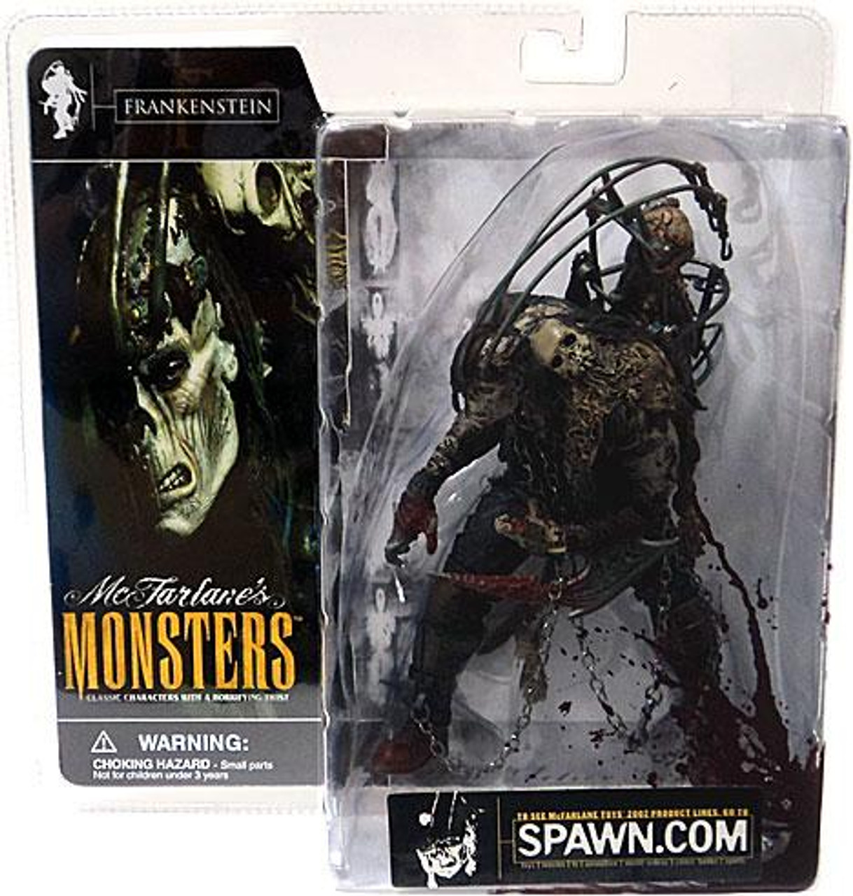 McFarlane Toys McFarlane's Monsters Series 1 Frankenstein Action Figure [Blood Splattered Package Variant]