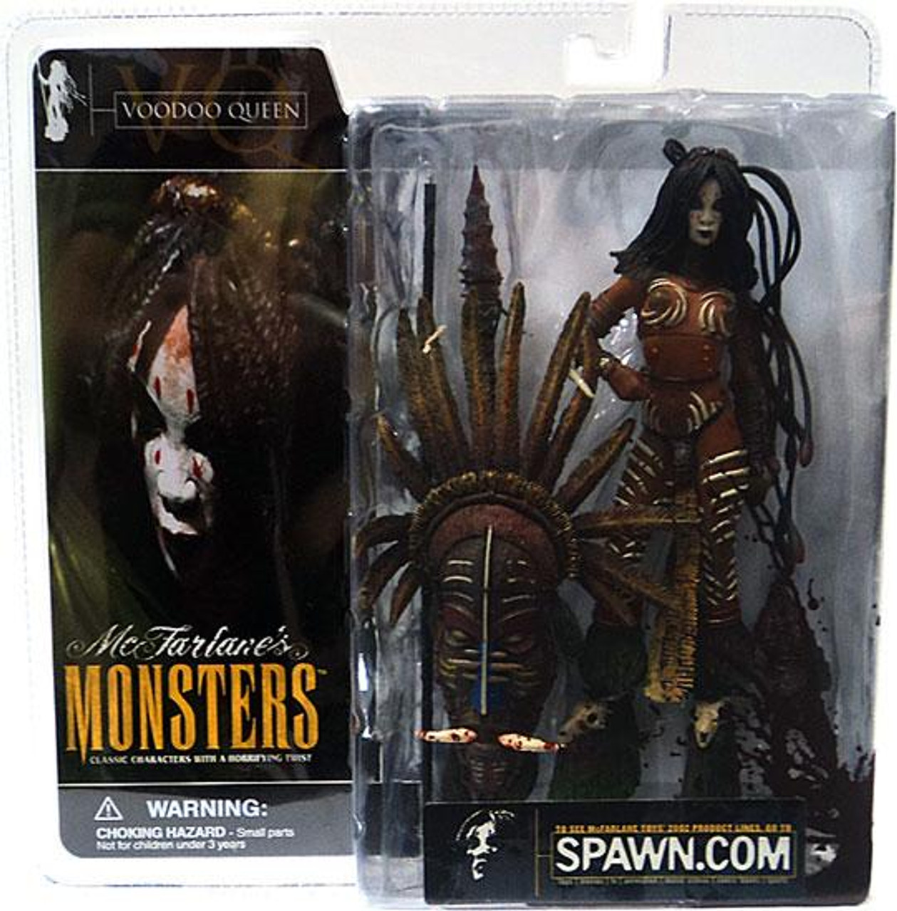 McFarlane Toys McFarlane's Monsters Series 1 Voodoo Queen Action Figure [Blood Splattered Package Variant]