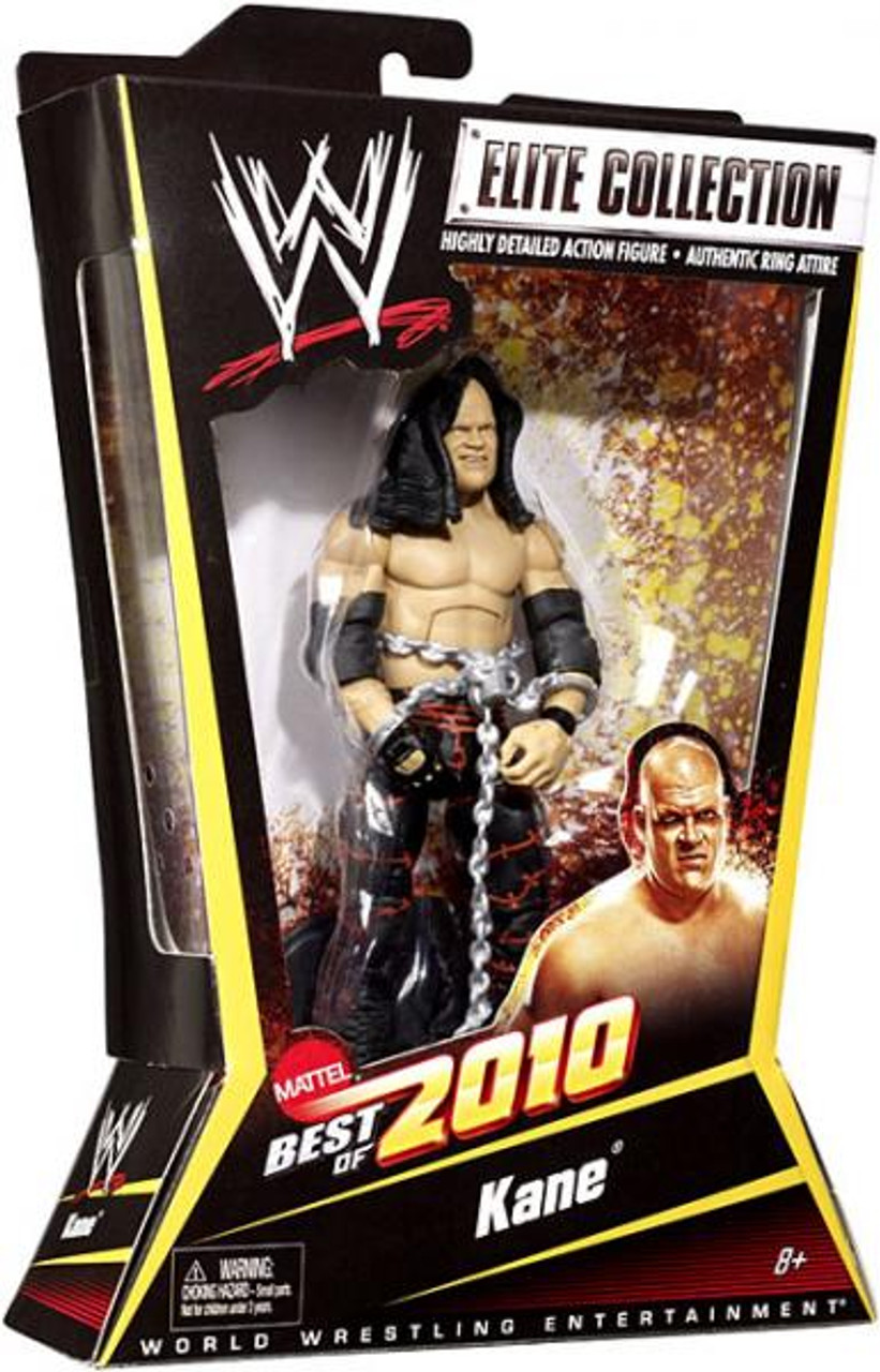 WWE Wrestling Elite Best of 2010 Kane Action Figure