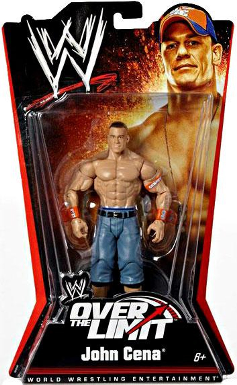 WWE Wrestling Over The Limit Series 5 John Cena Action Figure