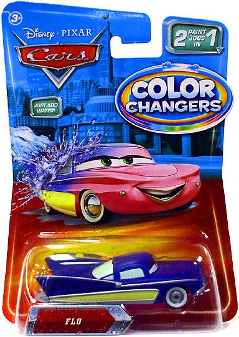 Disney Cars Color Changers Flo Diecast Car