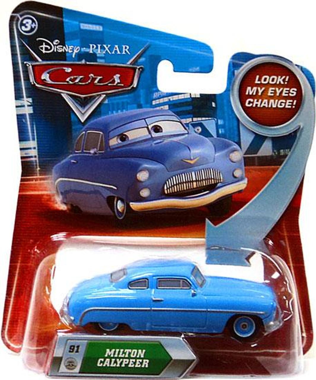 Disney Cars Lenticular Eyes Series 2 Milton Calypeer Diecast Car