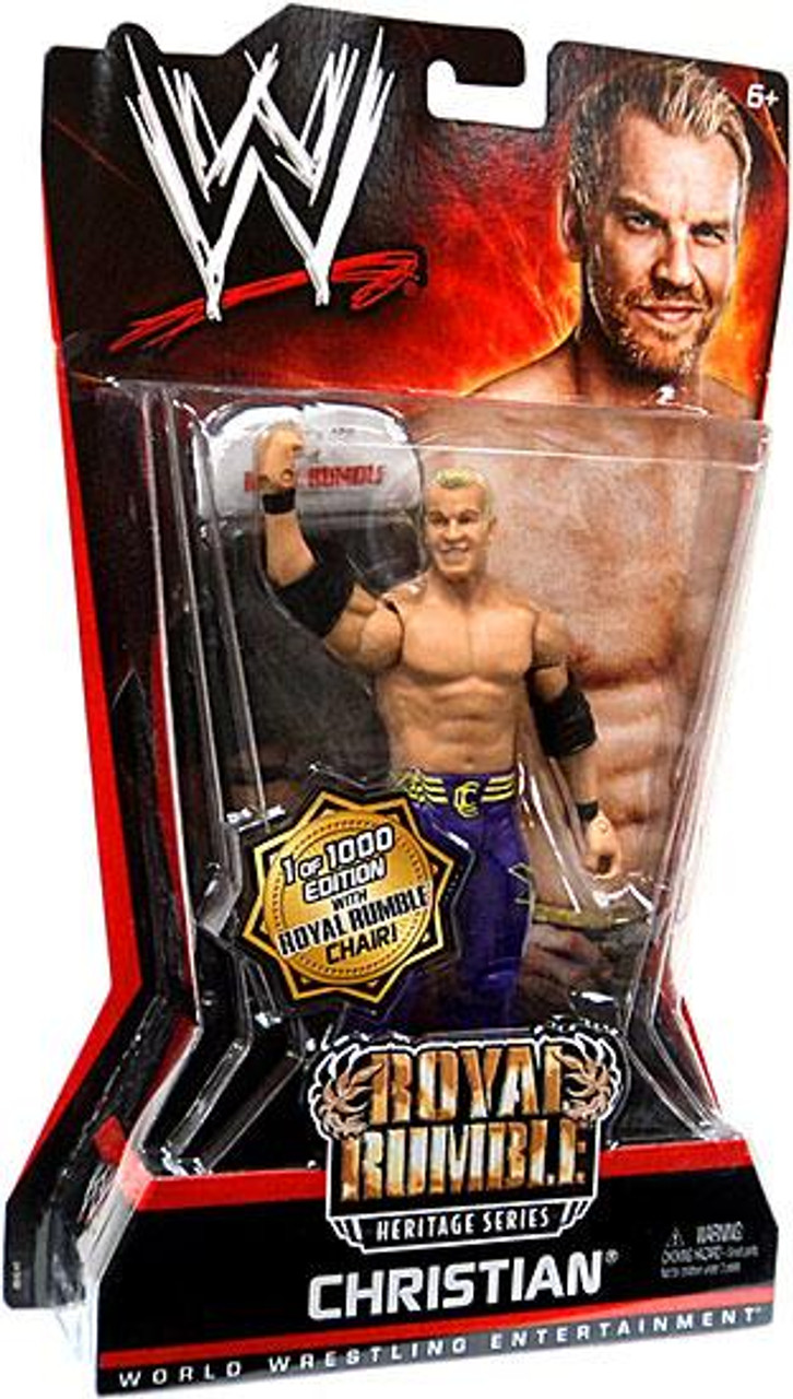 WWE Wrestling Pay Per View Series 6 Royal Rumble Heritage Christian Action Figure [With Chair]