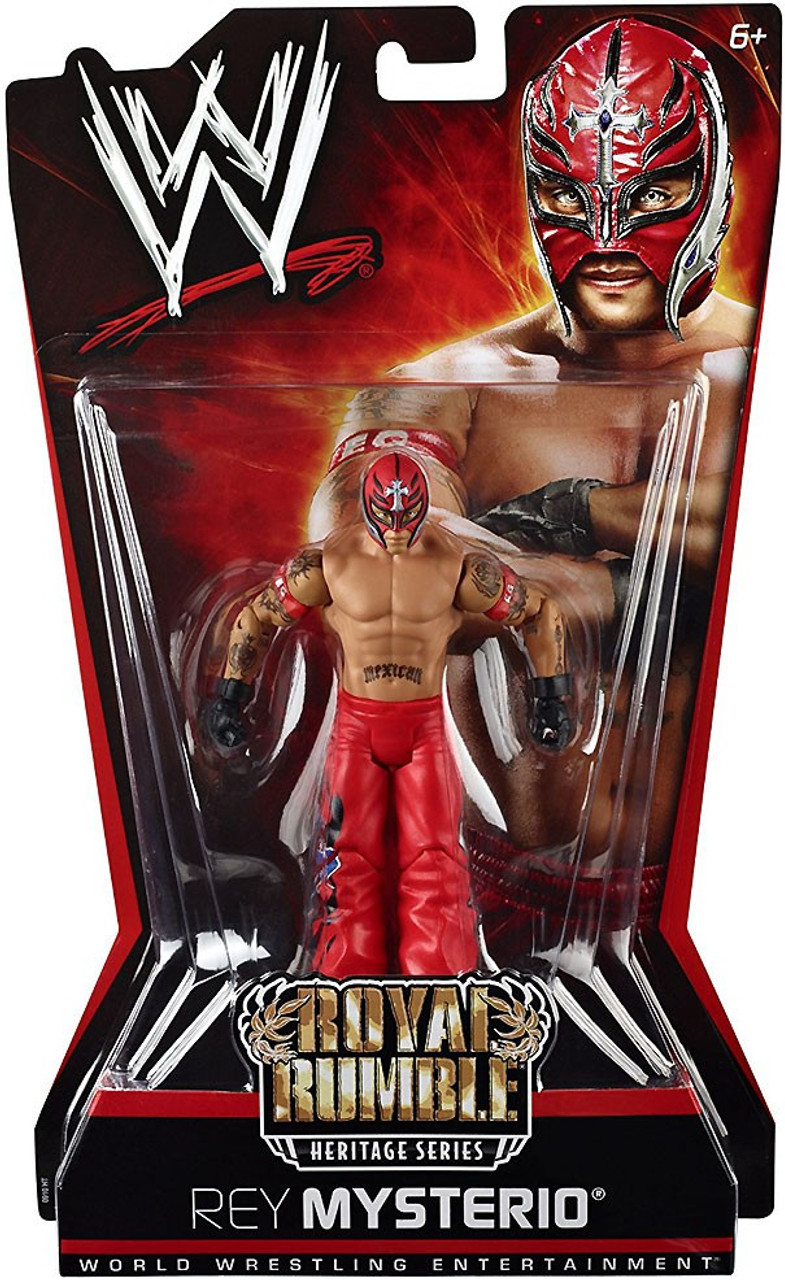 WWE Wrestling Pay Per View Series 6 Royal Rumble Heritage Rey Mysterio Action Figure