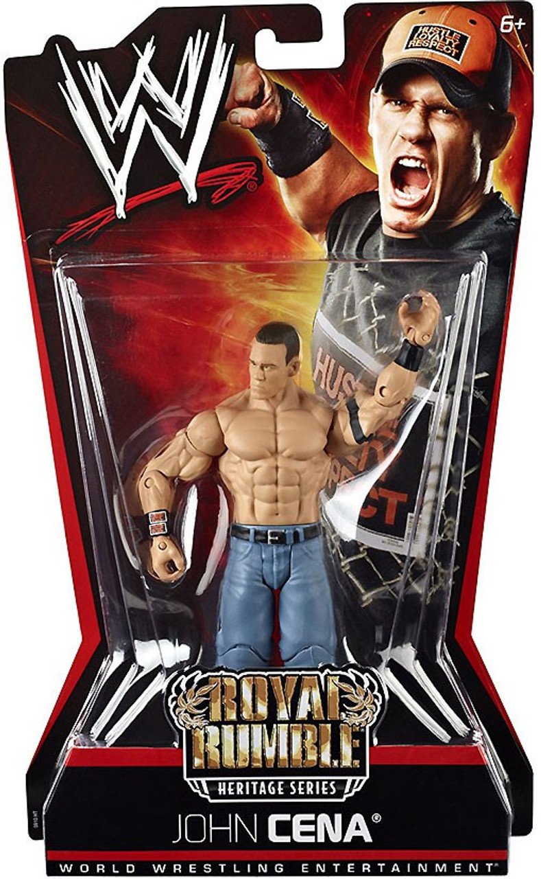 WWE Wrestling Pay Per View Series 6 Royal Rumble Heritage John Cena Action Figure