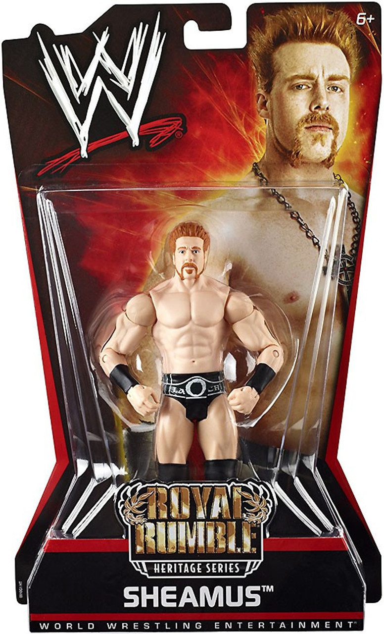 WWE Wrestling Pay Per View Series 6 Royal Rumble Heritage Sheamus Action Figure