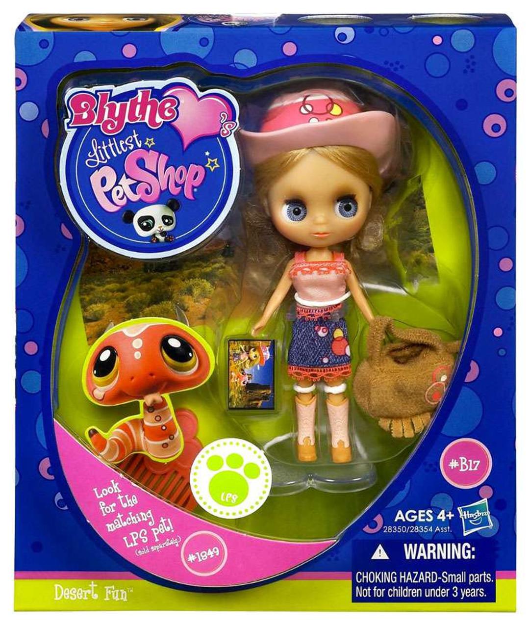Littlest Pet Shop Blythe Loves Singles Series 1 Desert Fun Doll B27