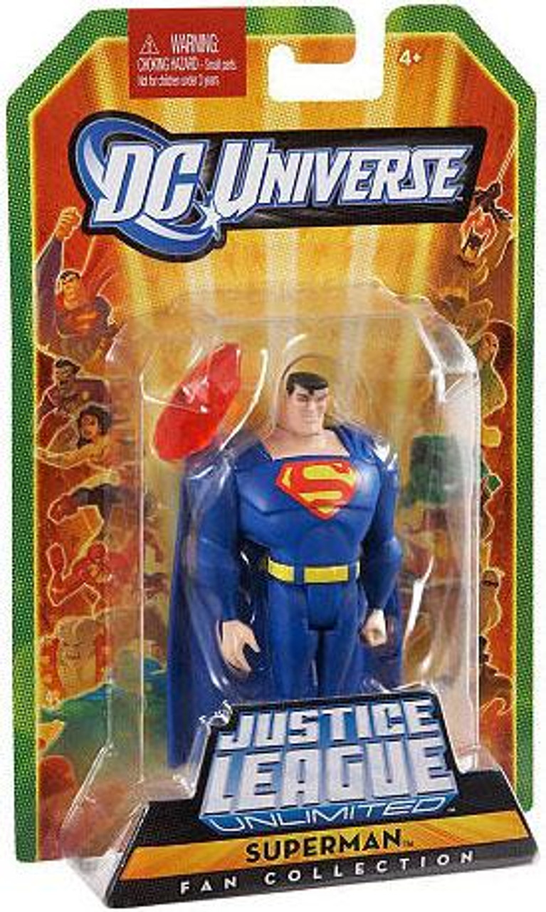 DC Universe Justice League Unlimited Fan Collection Superman Action Figure [Blue]