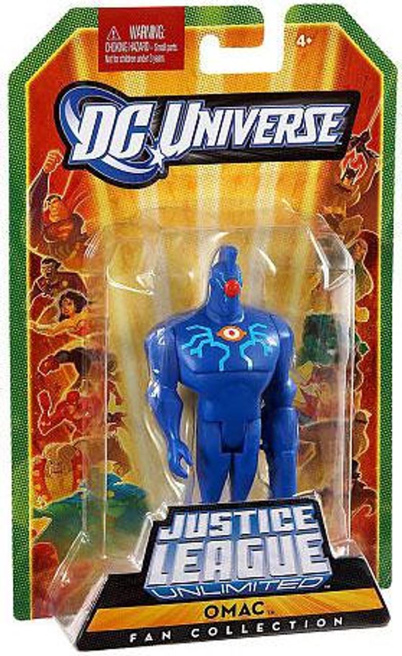 DC Universe Justice League Unlimited Fan Collection OMAC Action Figure
