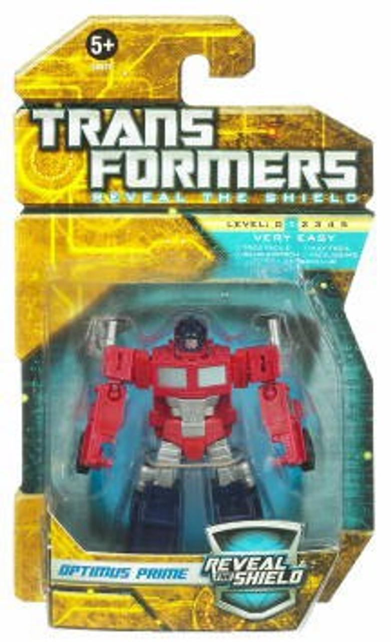 Transformers Reveal the Shield Hunt for the Decepticons Optimus Prime Legend Legend Mini Figure