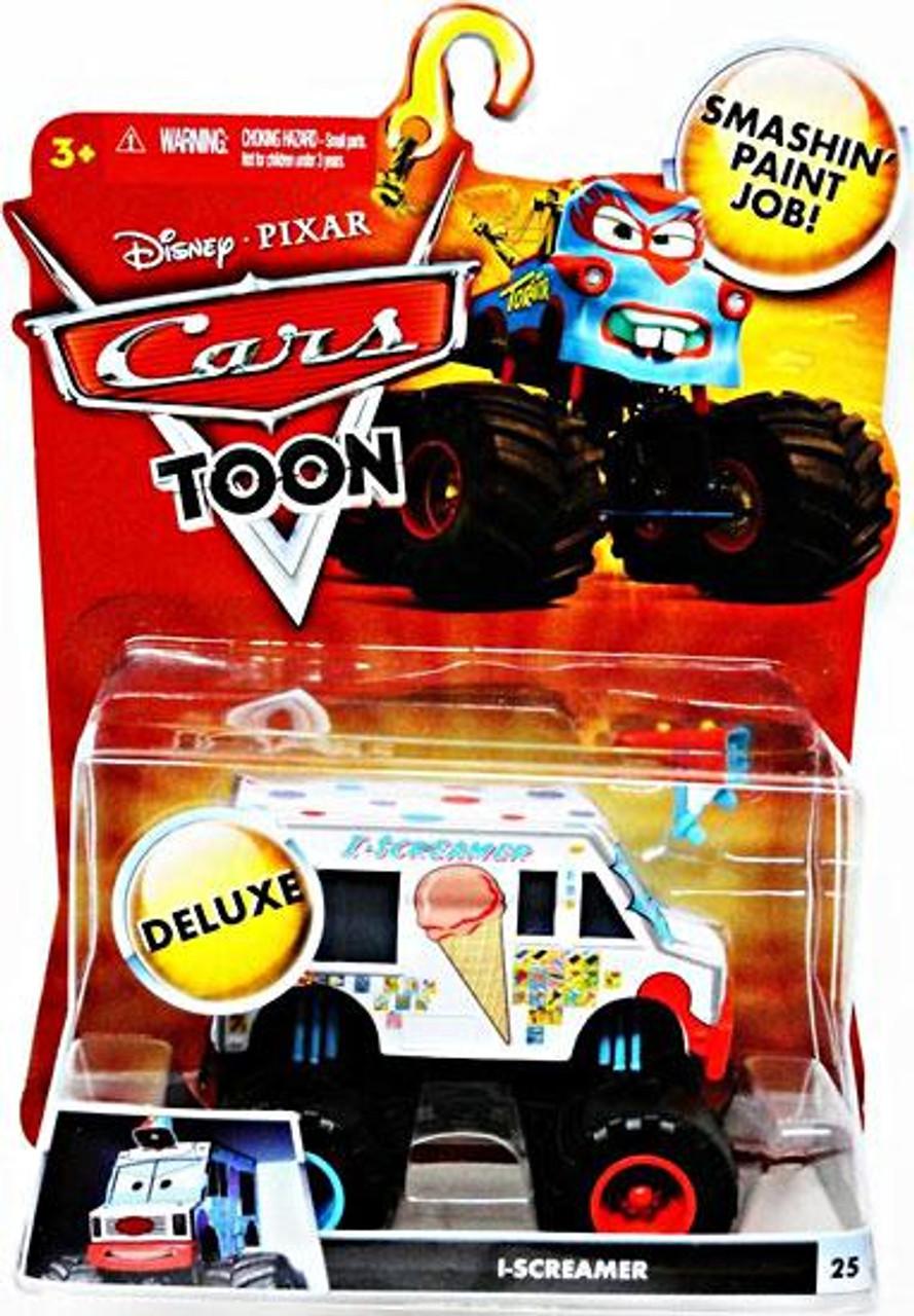 Disney Cars Cars Toon Deluxe Oversized I-Screamer Diecast Car [Toon Edition]