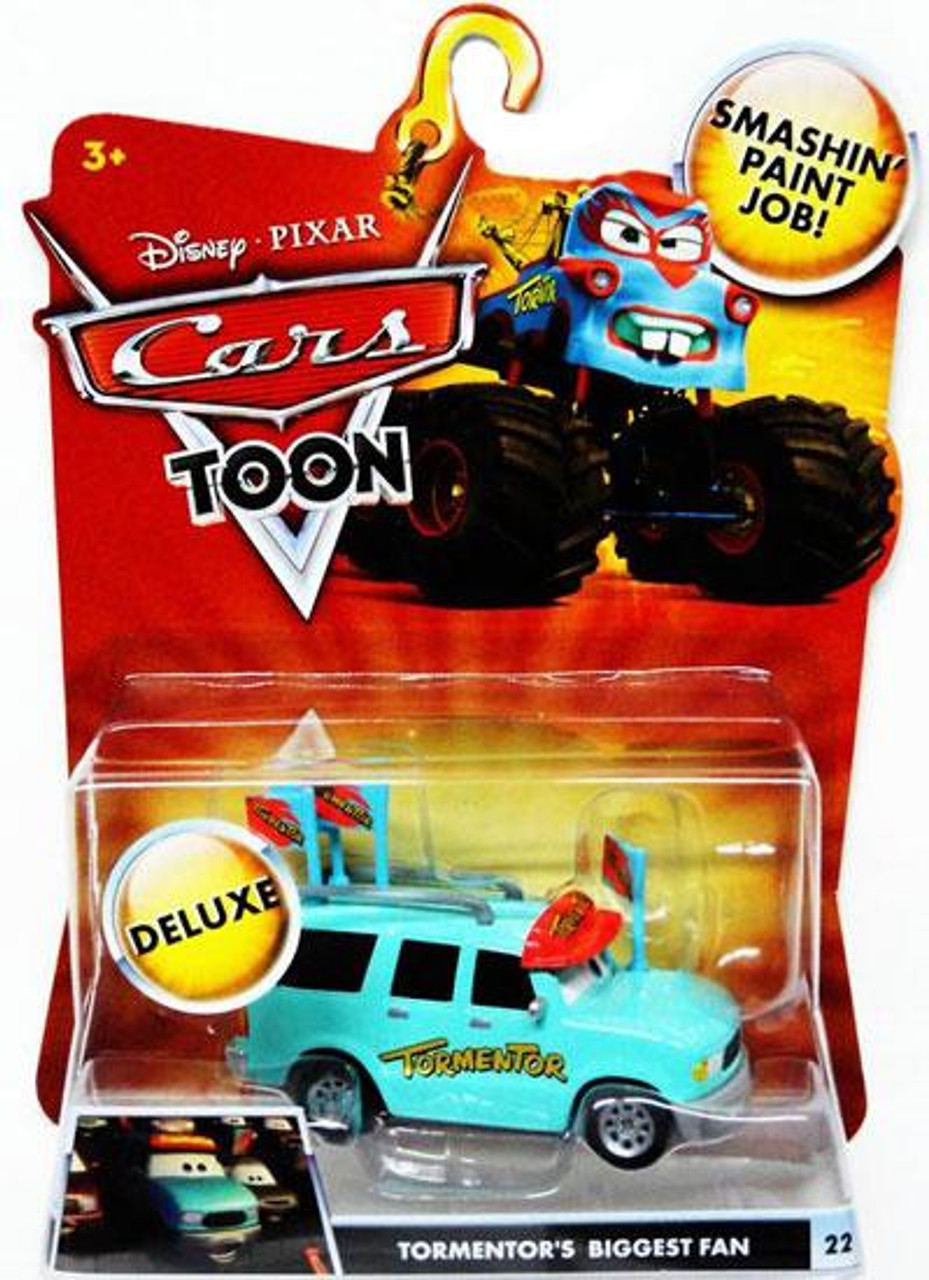 Disney Cars Cars Toon Deluxe Oversized Tormentor's Biggest Fan Diecast Car [Toon Edition]