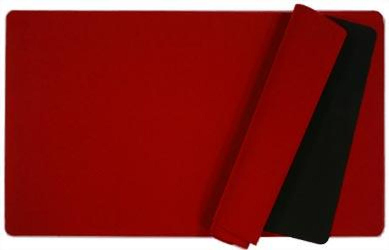 Card Supplies Red 12-Inch x 24-Inch Play Mat