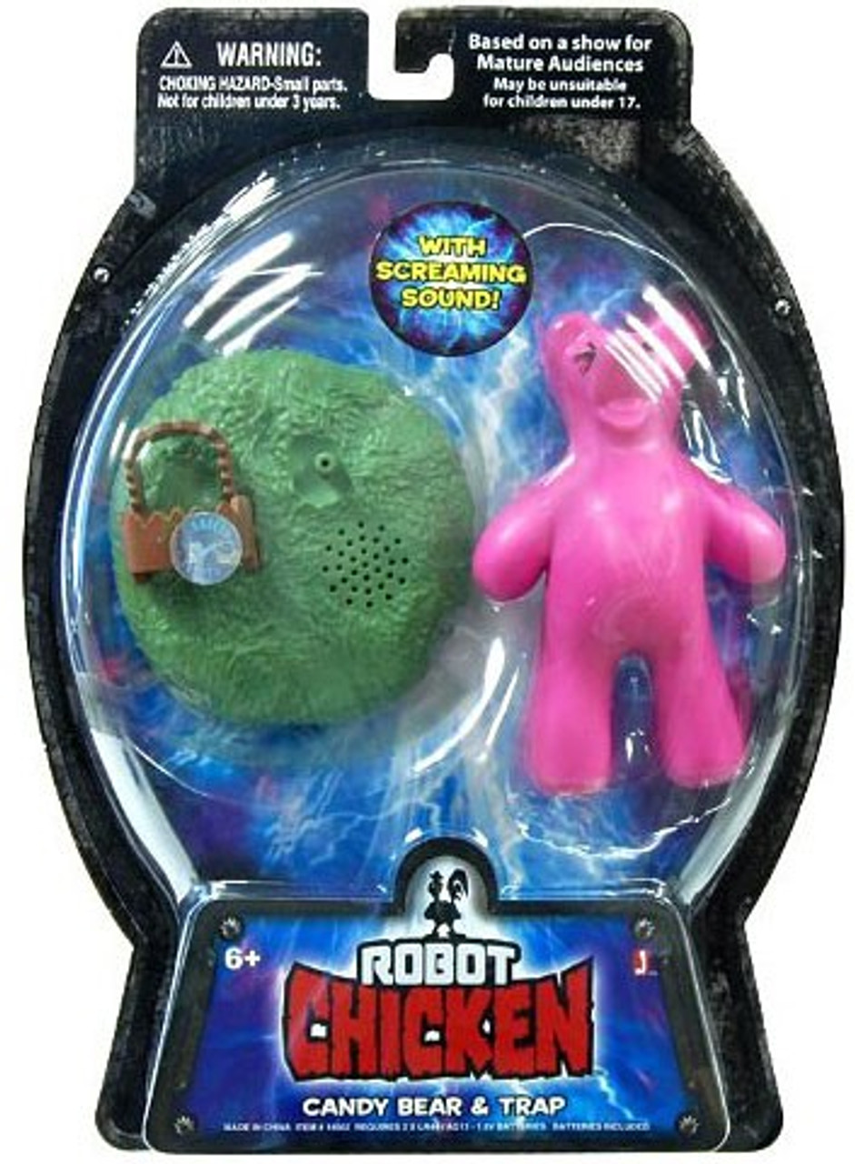 Robot Chicken Candy Bear Action Figure