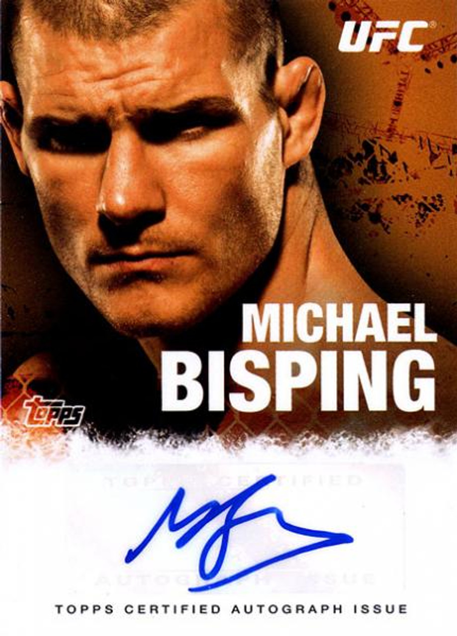 UFC 2010 Championship Michael Bisping Autograph Fighters & Personalities Autograph Card FA-MB