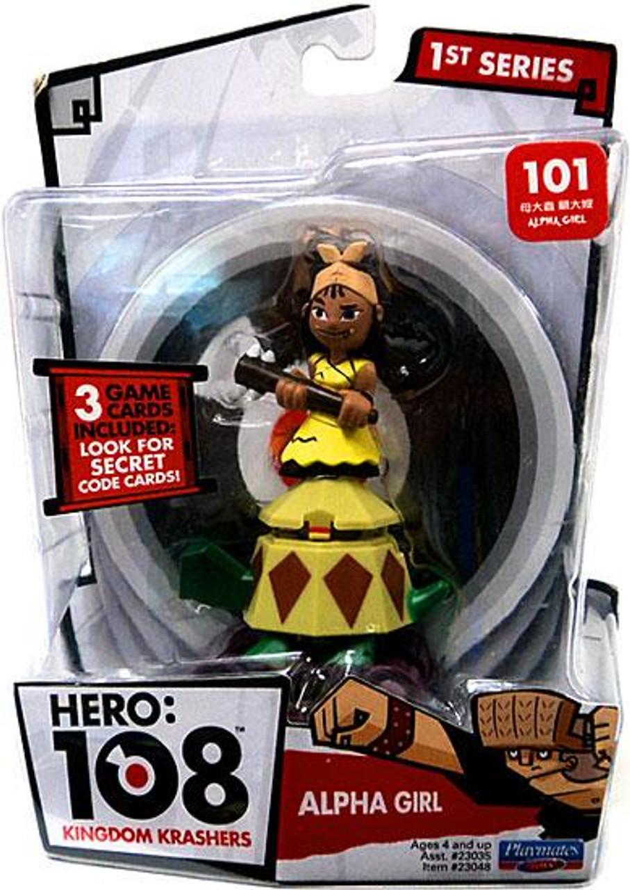 Hero: 108 Kingdom Krashers Series 1 Alpha Girl Action Figure #101