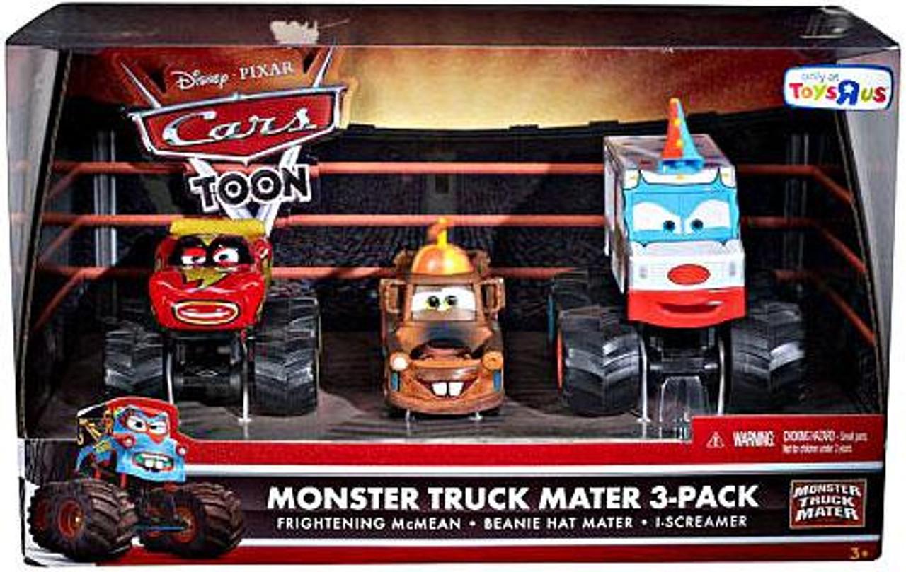 Disney Cars Cars Toon Multi Packs Monster Truck Mater Exclusive