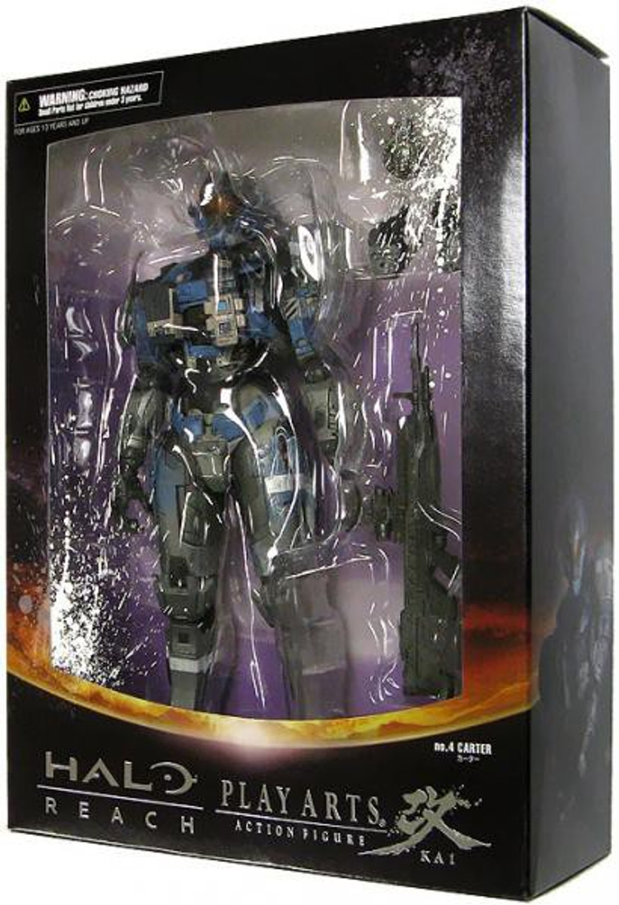 Halo Reach Play Arts Kai Series 2 Carter Action Figure [Commander]