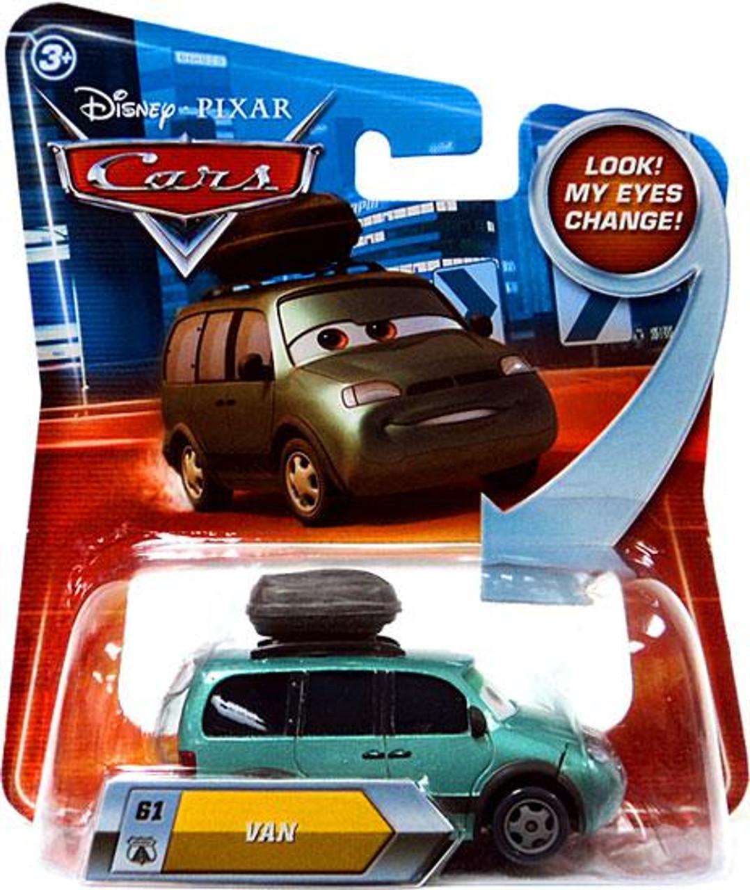 Disney Cars Lenticular Eyes Series 2 Van Diecast Car